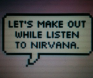 grunge, nirvana, and quote image