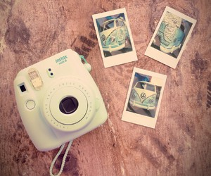 blue, fi, and instax image