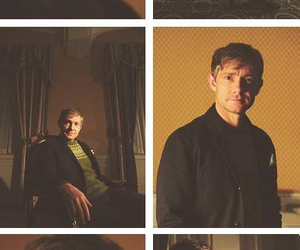 Martin Freeman and sherlock image
