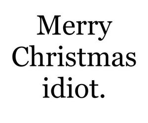 christmas, idiot, and funny image