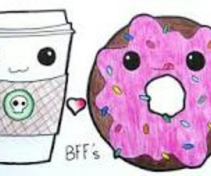 bff, donuts, and friends image
