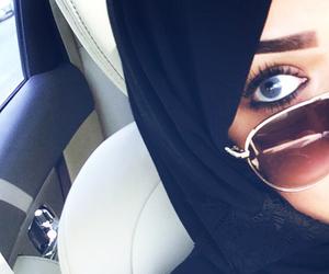 eyes, gorgeous, and hijab image
