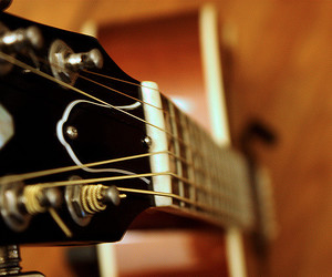 acoustic guitar, gibson, and guitar image