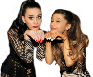 ariana grande and katy perry image