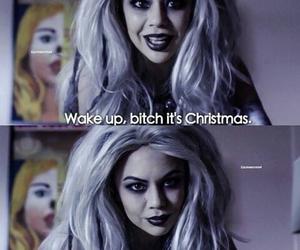 christmas, mona, and bitch image