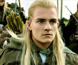 Legolas, orlando bloom, and hobbit image