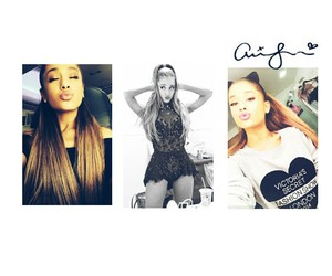 kiss, ariana, and my everything image