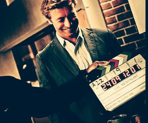 simon baker, smile, and the mentalist image