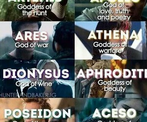 god, the hunger games, and ares image