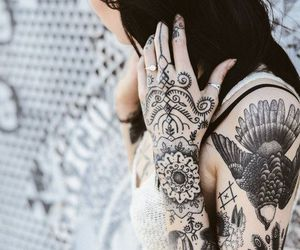 tattoo, hannah snowdon, and grunge image