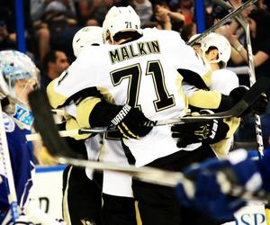 Ice Hockey, nhl, and penguins image
