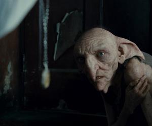harry potter, house elf, and kreacher image