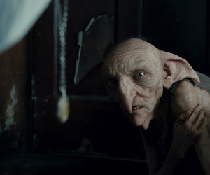 harry potter, house elf, and kreacher image