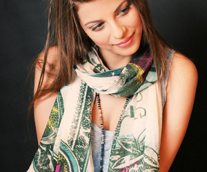 accessories, scarf, and scarves image
