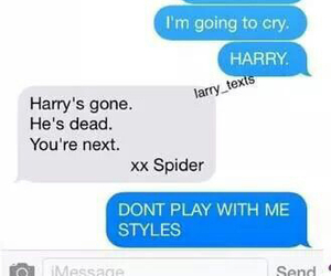 funny, spider, and harry image