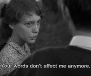 quote, black and white, and movie image