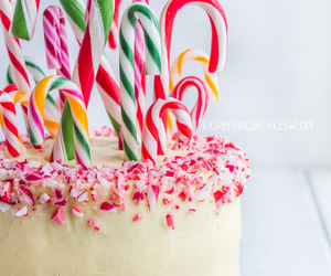 cake, christmas, and candy image