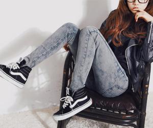fashion, girl, and korean image
