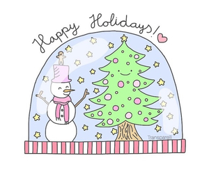 transparent, holiday, and snowman image