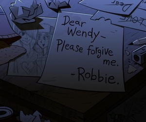 gravity falls and robbie v image