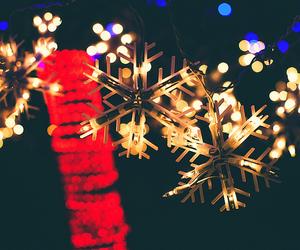 christmas, christmas lights, and merry christmas image