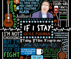 if i stay, book, and gayle forman image