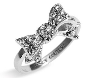 ring, juicy couture, and bow image