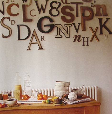 decor, interior, and typography image