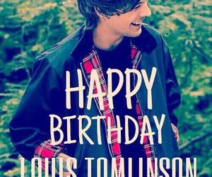 louis, birthday, and tomlinson image