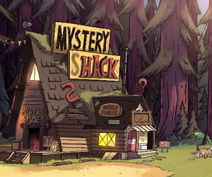 gravity falls and mystery shack image