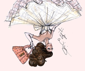 hayden williams, dress, and drawing image