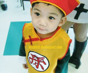 cosplay and child image