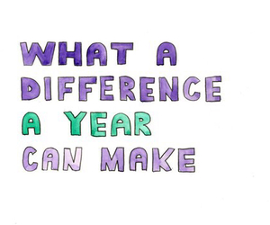 difference, quote, and year image