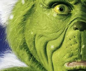 grinch, christmas, and green image