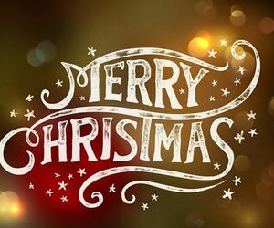 merry christmas, christmas, and happy image