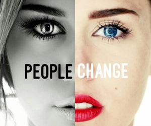 change, miley cyrus, and people image