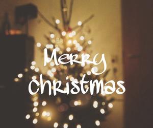 christmas, lights, and misteltoe image