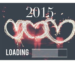 2015, new year, and loading image