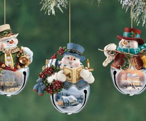 snowman, christmas, and new year image