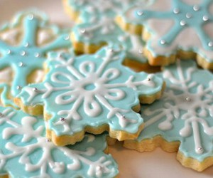 food, christmas, and Cookies image