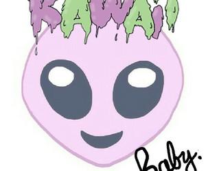 alien, pastel goth, and grunge image