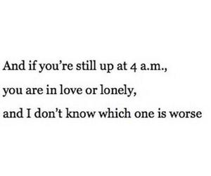 love, lonely, and quotes image