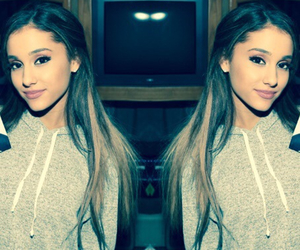 ariana grande, makeup, and pretty image