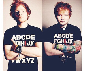 ed sheeran, tattoo, and ed image