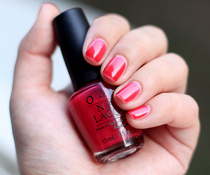 nails, red, and photography image