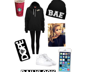 bae, dope, and hair image