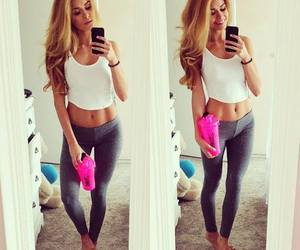 girl, fit, and hair image