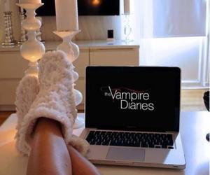 girl, Vampire Diaries, and love image