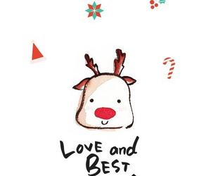 christmas and deer image