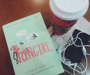 book, girl, and fangirl image